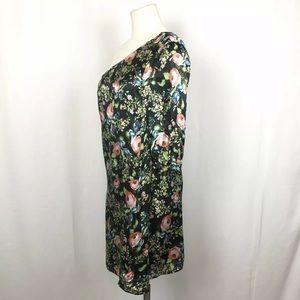 Anthropologie Dresses - Anthro Hazel Silk Dress ~ One Shoulder ~ lined